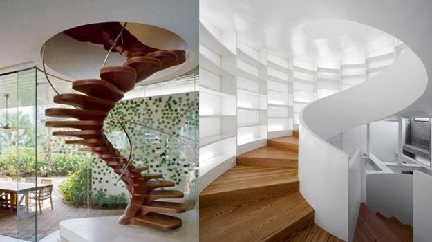 escalier balance