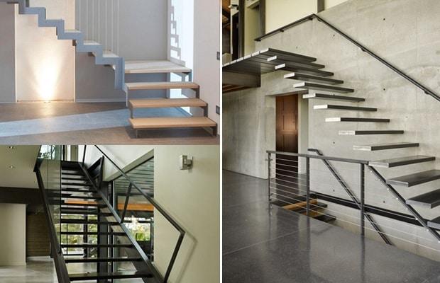 Des escaliers metalliques