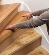 Rénovation d'escalier: mettre des tablettes d'escalier
