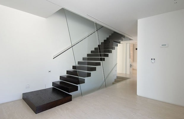 Escalier design flottant