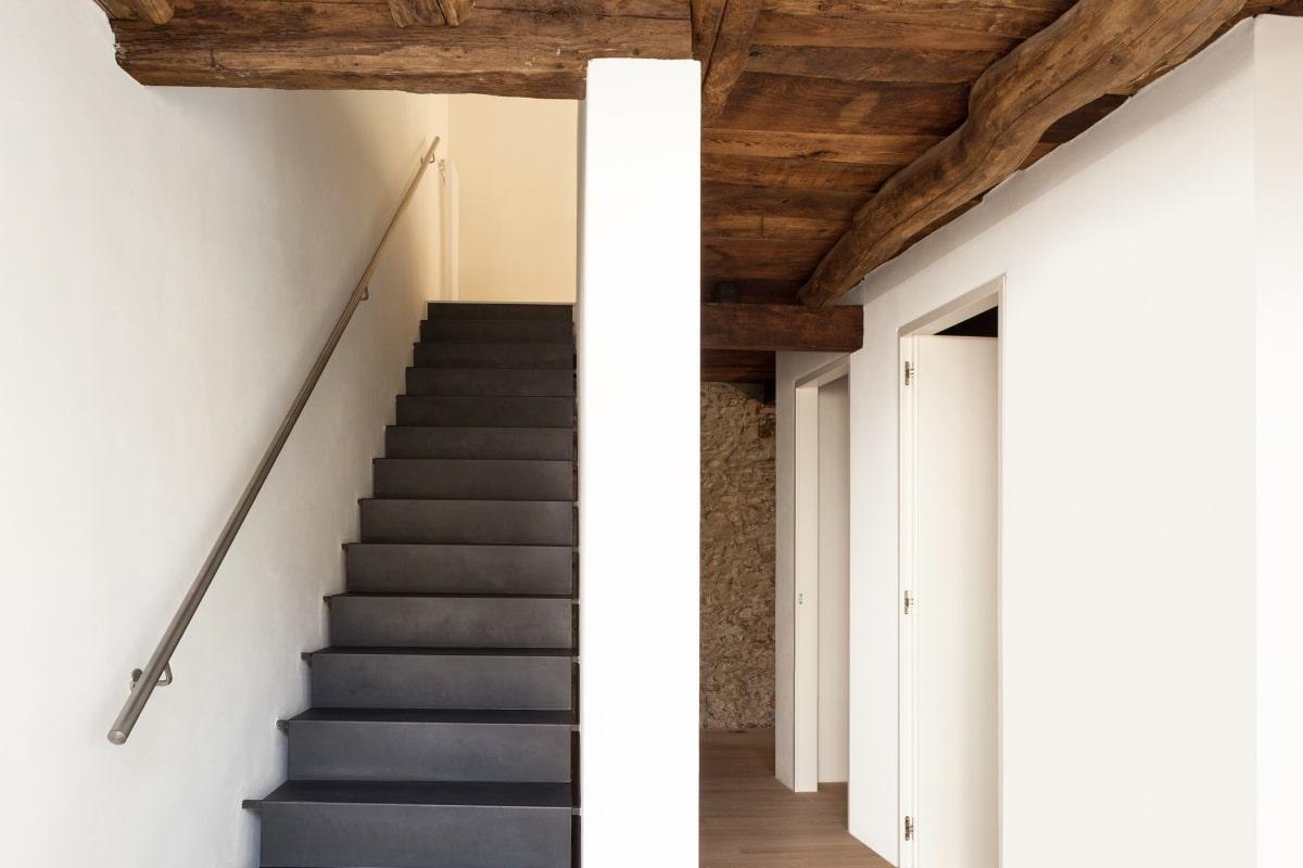 escalier de meunier en acier