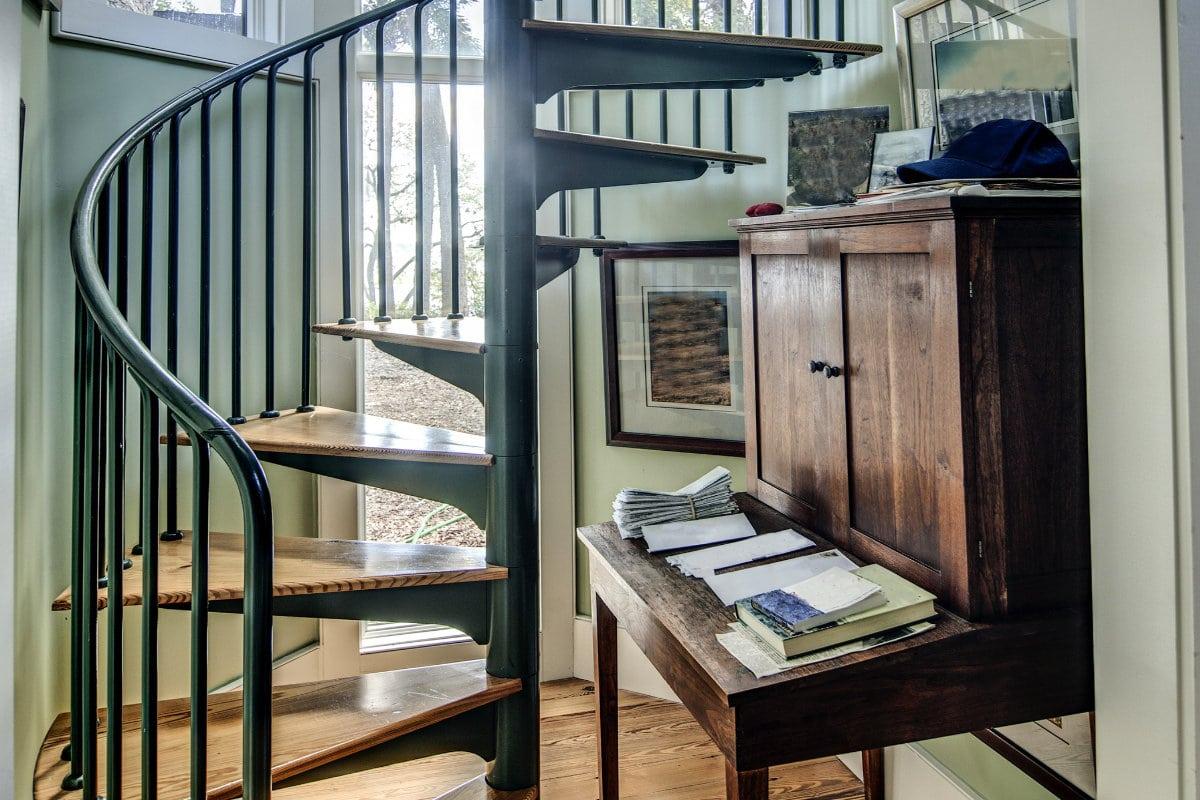 escalier en colimaçon ouvert