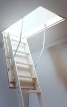 escalier de grenier types d'escaliers