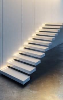 escalier suspendu types d'escaliers