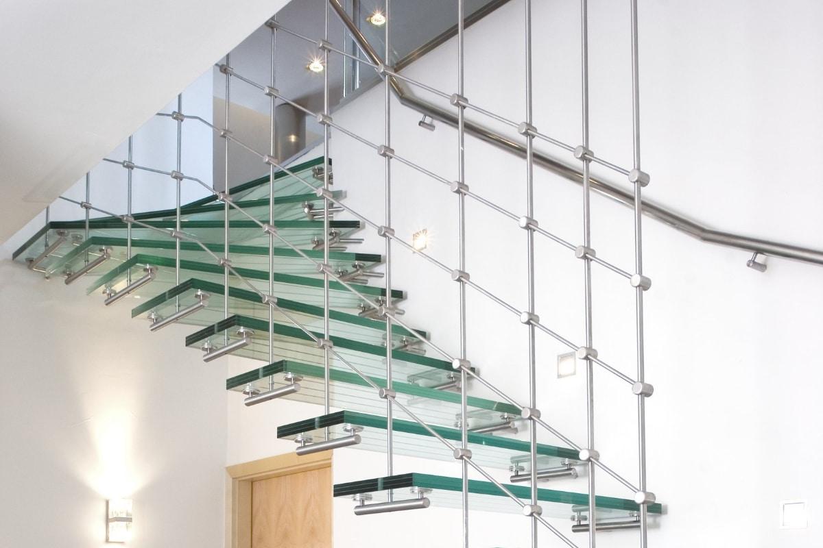 escalier verre prix