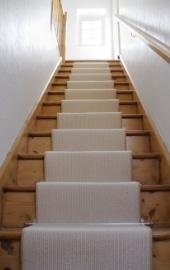 habillage escalier tapis